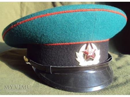 Czapka szeregowego pogranicznika ZSRR