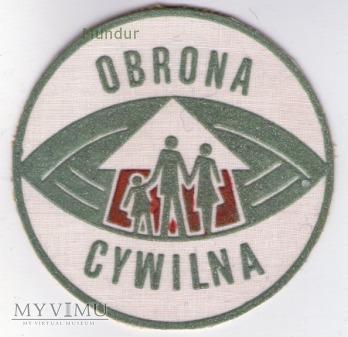 Emblemat OBRONA CYWILNA 85mm