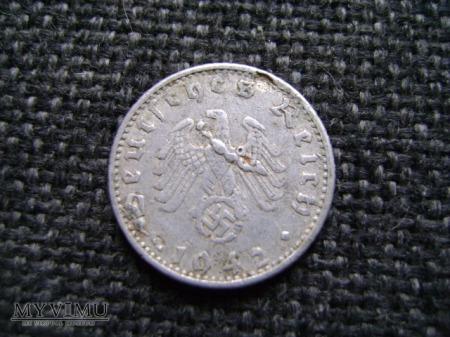 50 reichspfennig 1942 A