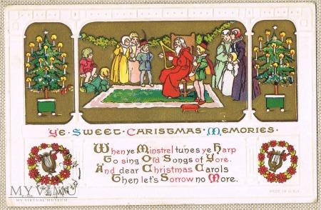 1915 kartka świateczna