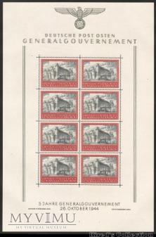 Duże zdjęcie Arkusz znaczków Fi.125