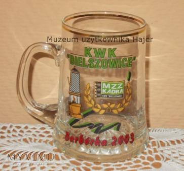 Duże zdjęcie 2003 Kadra KWK Bielszowice Barbórka