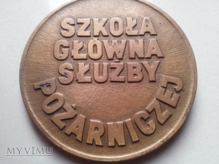 Medal - Szkoła Główna Służby Pożarniczej