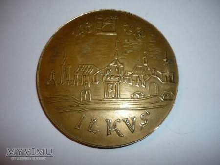 Medal 500 lat Straży Pożarnej w Olkuszu