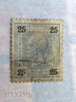 Franz Joseph 1899 25 Halerz austro-węgierski
