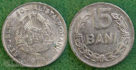 Rumunia, 15 Bani 1975