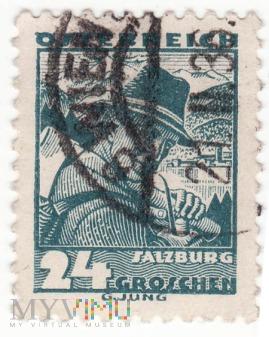 Osterreich, 1934 – Salzburg 24 Groshen