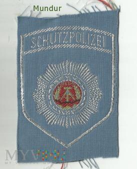 Volkspolizei - emblemat Transportpolizei