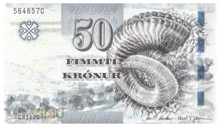 Wyspy Owcze - 50 koron (2011)