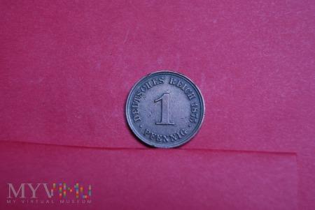 1 Pfennig 1875 I