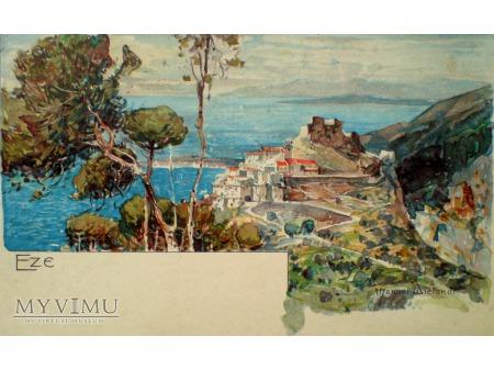 1919 EZE Francja Manuel Wielandl pocztówka