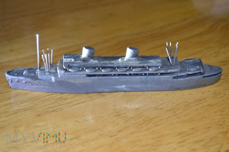 Model statku M/S Pilsudski Linie Gdynia Ameryka