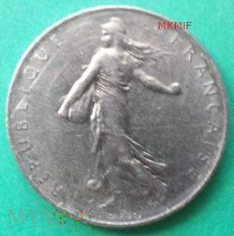 1 Franc Francja 1975