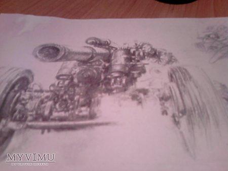 Duże zdjęcie Autentyczne rysunki niemieckiego żołnierza