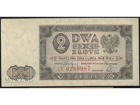 2 zł 1948 r.