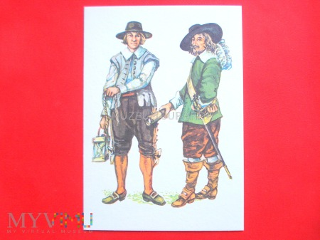 Bosman i kapitan - XVII wiek
