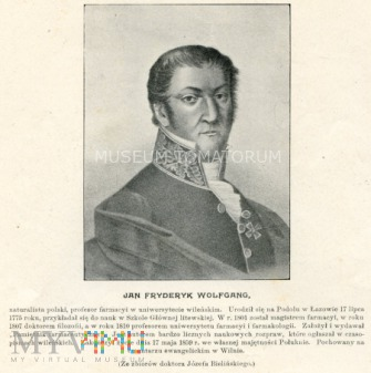 Wolfgang Jan - farmaceuta