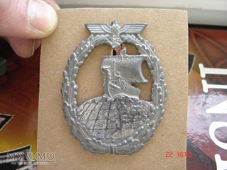 Kriegsmarine Odznaka Krążownik Pomocniczy