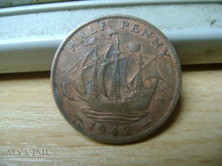 half penny 1942