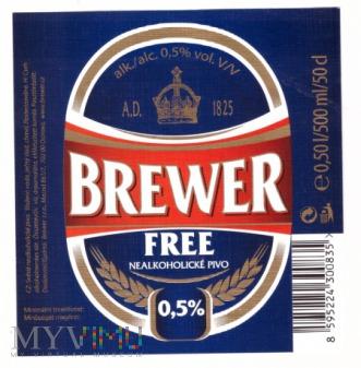 Brewer, Free