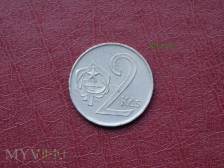 Moneta czechosłowacka: 2 Kčs