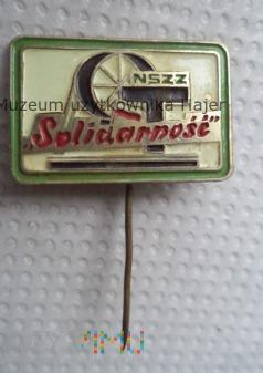 NSZZ Solidarność KWK Gottwald - odznaka
