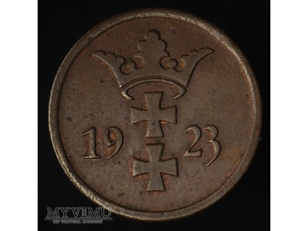 2 fenigi 1923