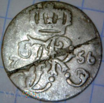 Fryderyk II Wielki 1740-1786-24 część talara 1756A