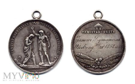 Medal Chrzcielny (1858)