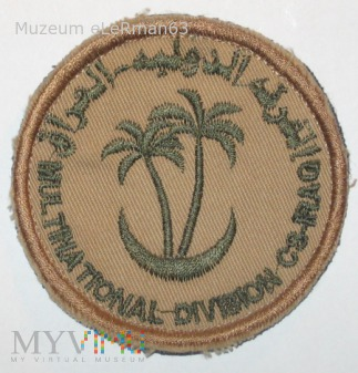 Wielonarodowa Dywizja Centrum-Południe. Irak