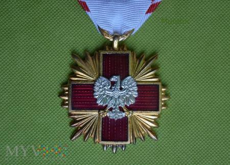 Odznaka honorowa PCK - 1 stopnia PRL