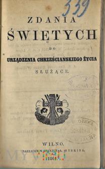 Książka z 1861.