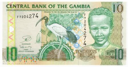 Gambia - 10 dalasis (2013)