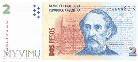 Argentyna - 2 pesos (2002)