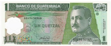 Gwatemala - 1 quetzal (2008)