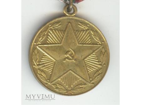 Medal Za nienaganną służbę IIIstopnia