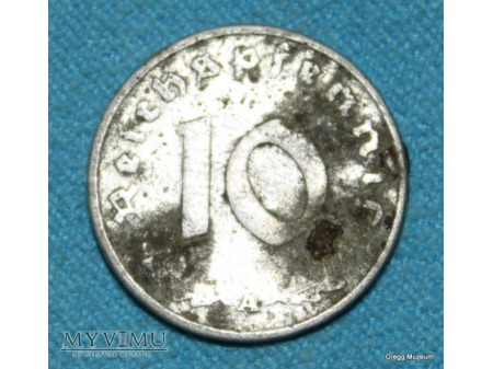 10 Reichspfennigów 1942