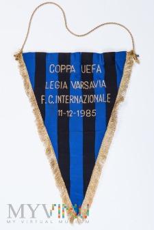 1985 - Legia - Inter