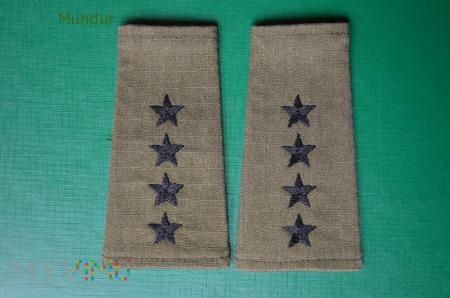 Pochewki służbowe z oznakami stopnia - kapitan SG