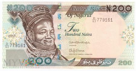 Nigeria - 200 naira (2017)
