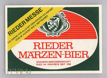 Rieder Marzen-Bier