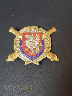 Pamiątkowa odznaka 19 Pułku Artylerii - Francja