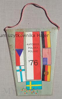 Duże zdjęcie Katowice 1976 Hokejowe Mistrzostwa Świata