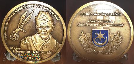 282. ZAPORA-Major Hieronim Dekutowski. Patynowany