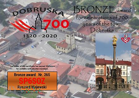 Dobruska 700 Bronze