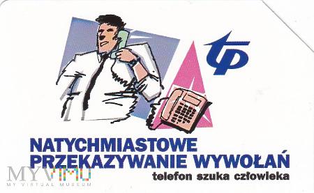 Karta telefoniczna - telefon szuka człowieka
