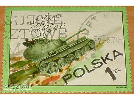 T-55 - XXX lat LWP znaczek
