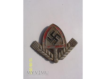 Duże zdjęcie ODZNAKA Z CZAPKI -RAD-Reichsarbeitsdienst