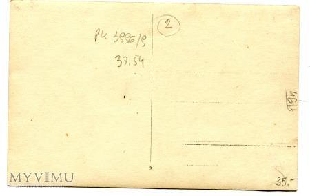 Arthur Thiele Koń w przebraniu pocztówka