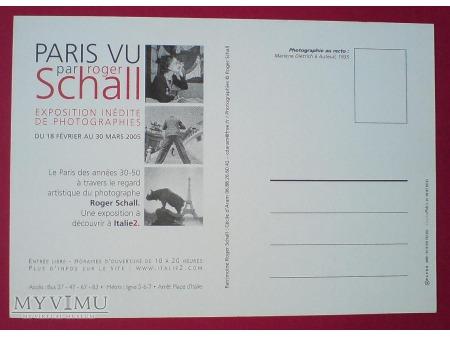 Marlene Dietrich Paryż oczami Roger 'a Schall 'a